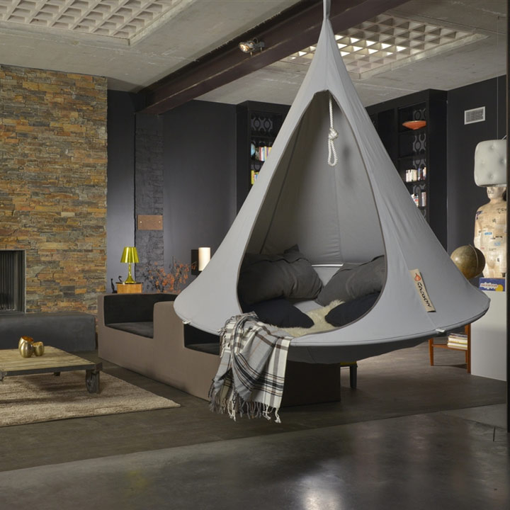 Hanging Tepee indoor privacy cacoon hammock