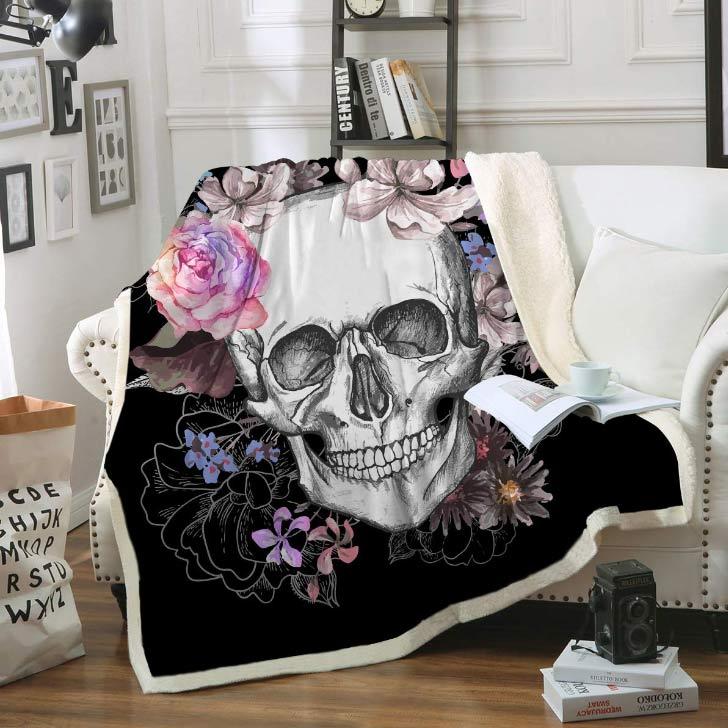 halloween spooky blanket