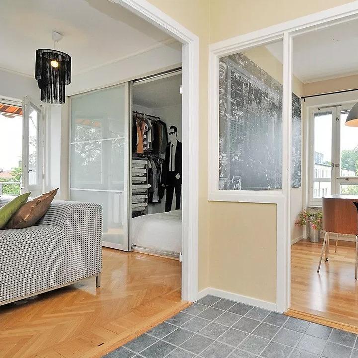 Ikea PAX closet privacy doors