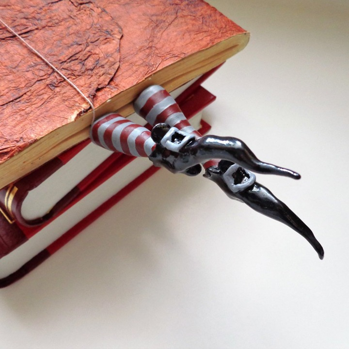 Wicked witch Halloween bookmark