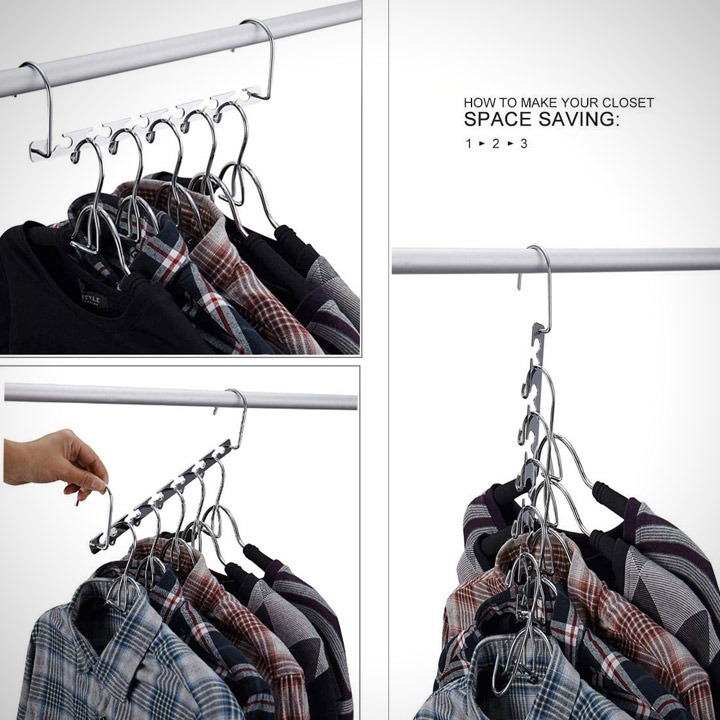 Magic hangers clothes closet organizer