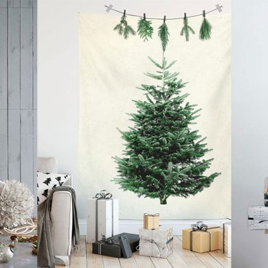 christmas tree alternative for walls featured image