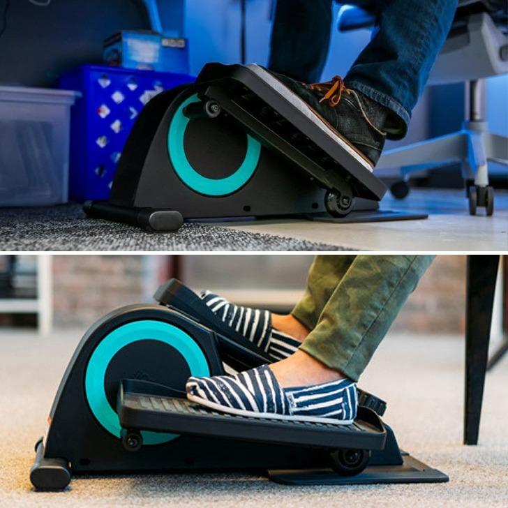 cubii under desk elliptical exercise machine for small spaces