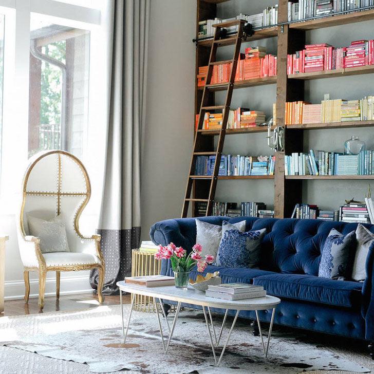 curvy comfortable furniture design trend 2019