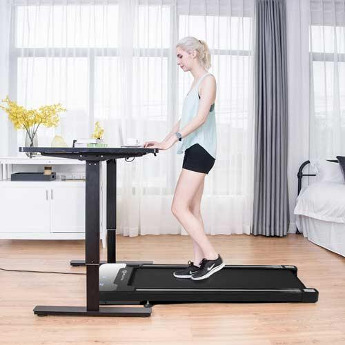unde-desk treadmill