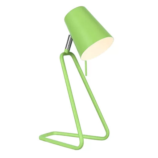 Carrion Modern Metal Green Desk Lamp