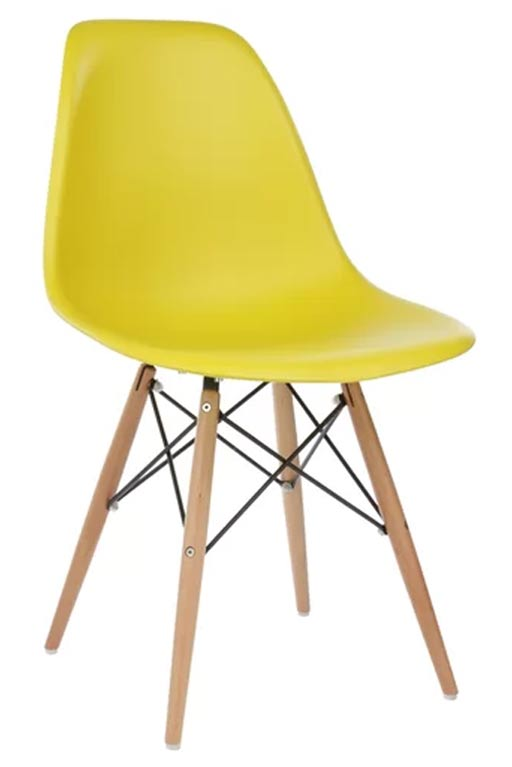 Harrison Yellow Office Dining Chair