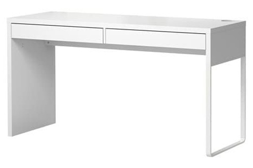 IKEA MICKE White Writing Office Desk