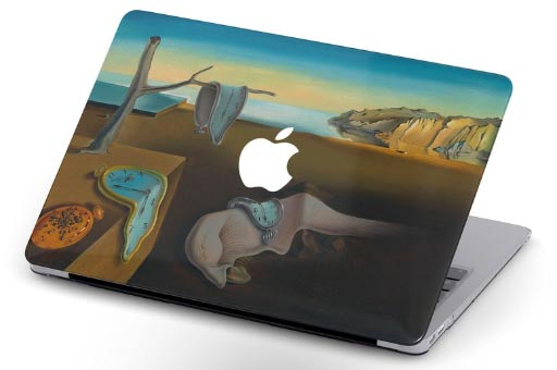 dali macbook cover