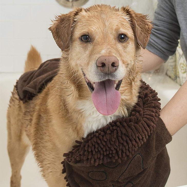 microfiber dog bath towel