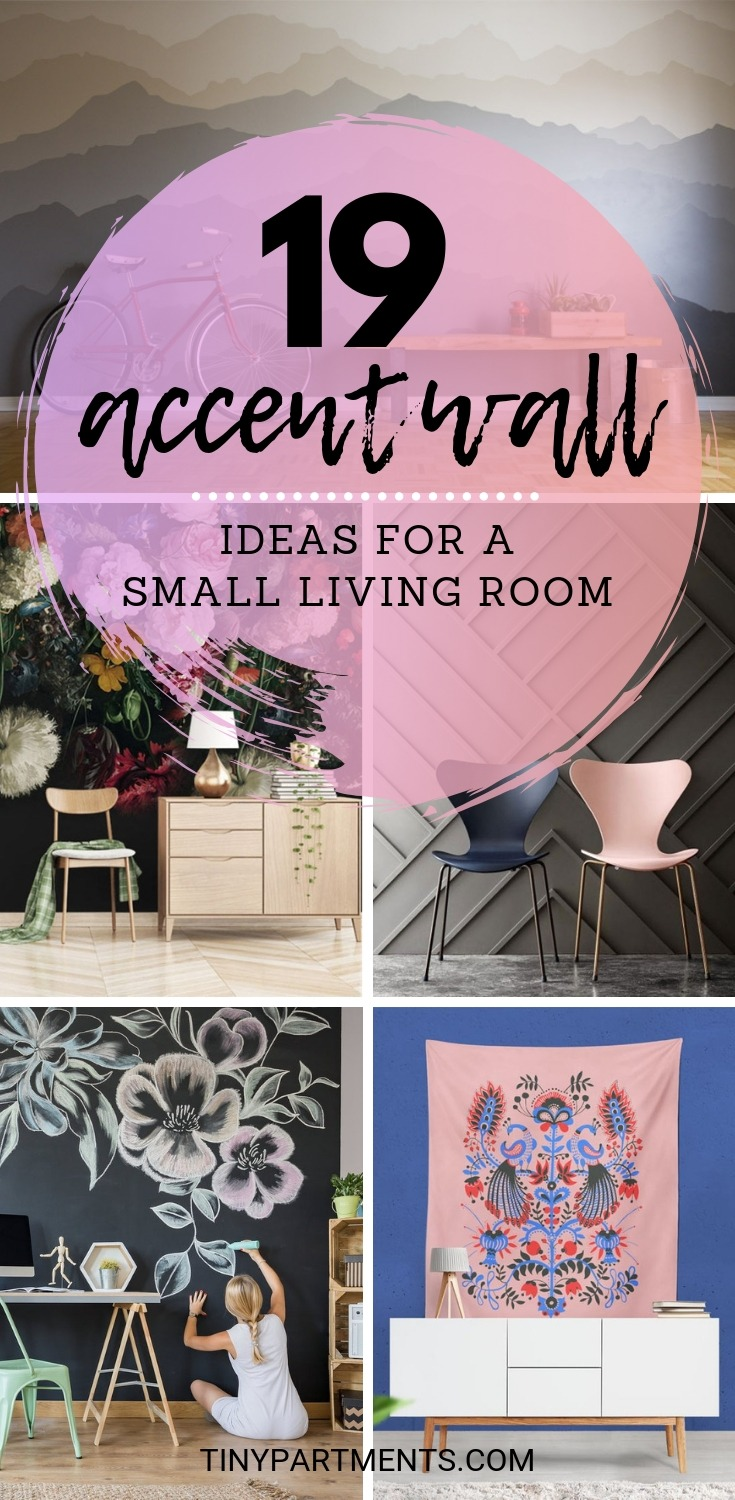 accent wall ideas for a small living room ideas pinterest