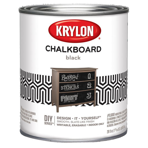 chalkboard accent wall paint