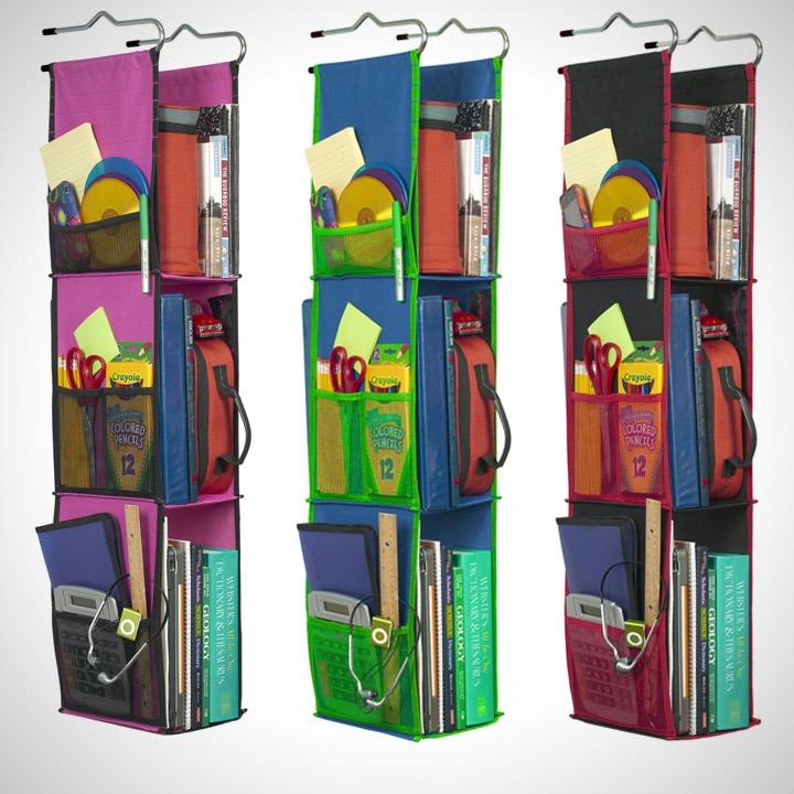 hanging stationery organizer storage