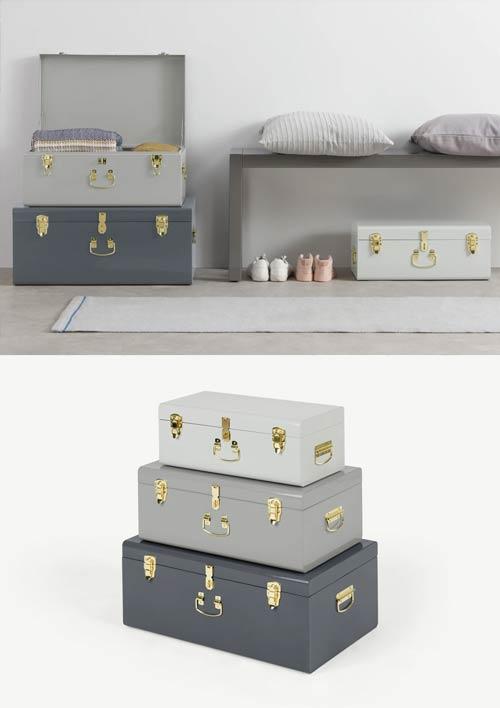 dorm room storage trunk
