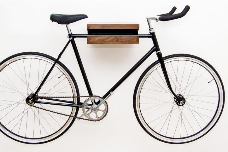 bike storage shelf features
