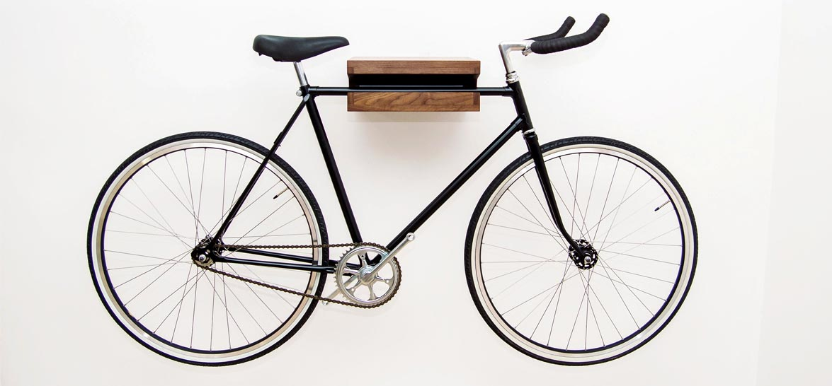 This Bike Storage Rack Puts Your Problems On A Shelf