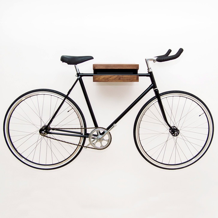 bicycle storage shelf