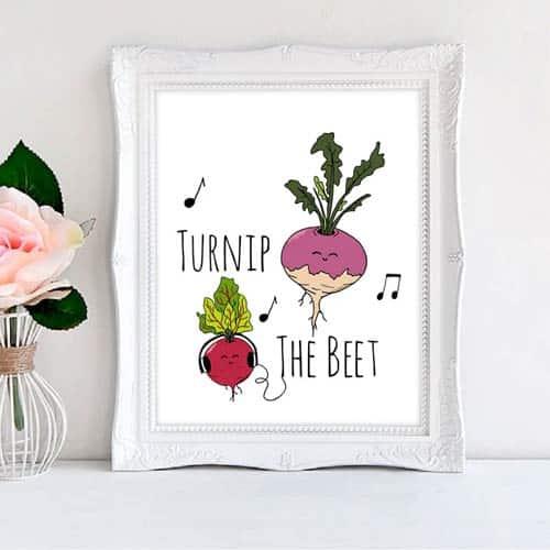 turnip the beet kitchen pun