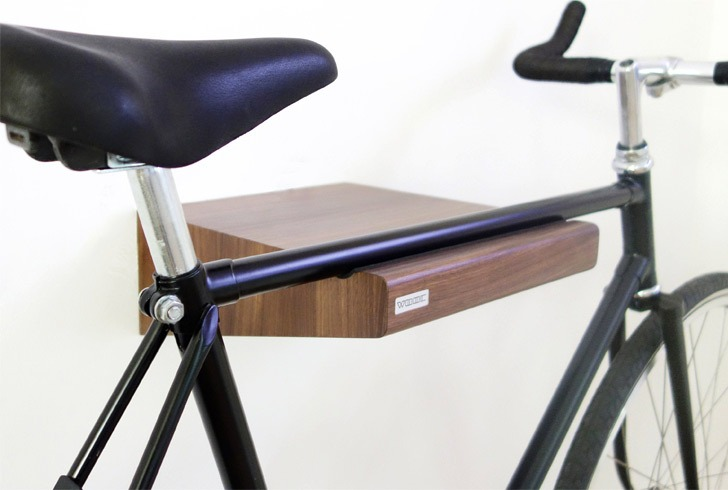 walnut bike rack