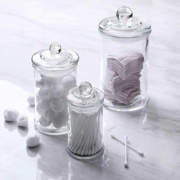 apothecary bathroom jars