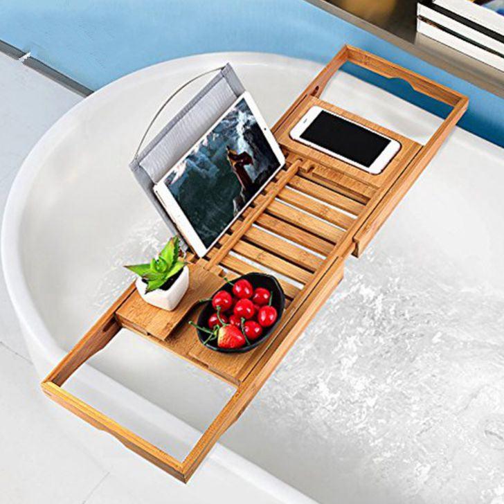 bathtub extendable caddy