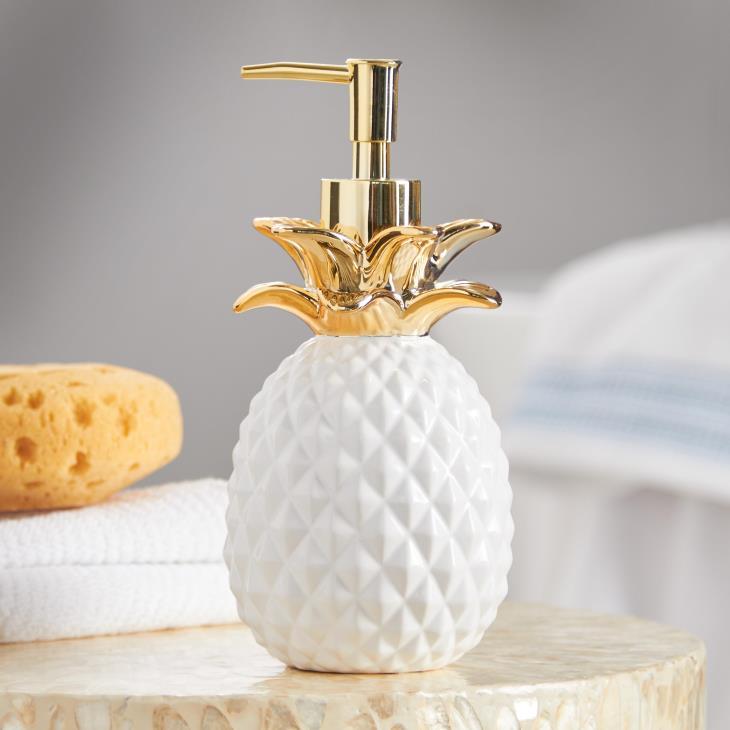 pineapple soap dispenser