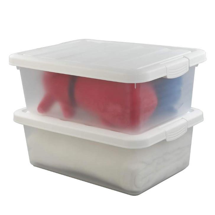 plastic storage bins with lids