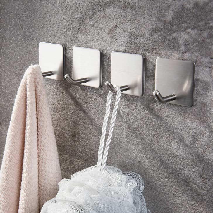 self adhesive steel hooks