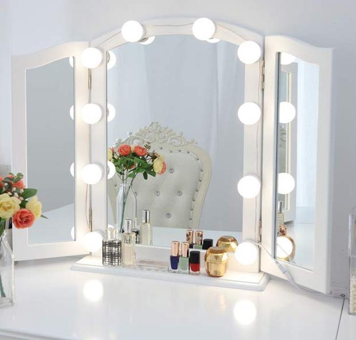 vanity bathroom mirror lights