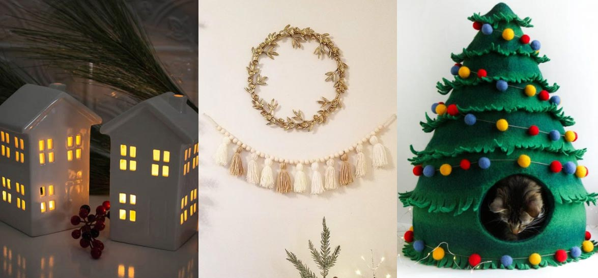 18 Unique Christmas Decorations You'll Use All Year