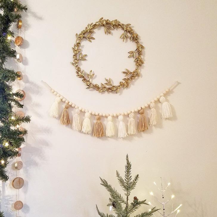 unique christmas decorations garland