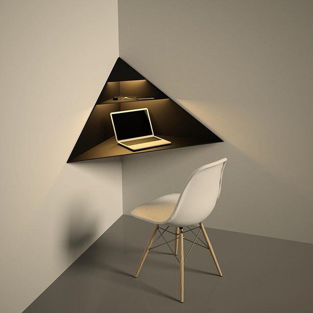 cornito corner desk