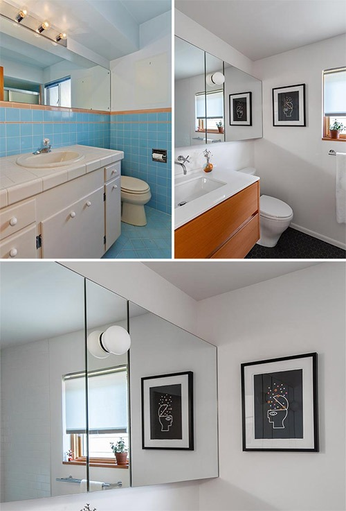 small bathroom redesign