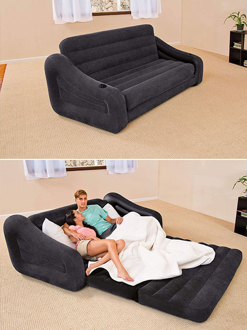 inflatable pull-out couch