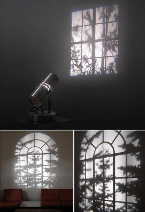 window wall projector