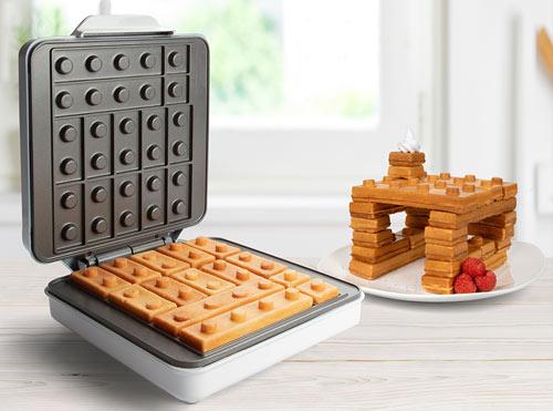 building blocks waffle maker