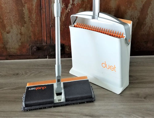 duet mop dust pan cleaning tool