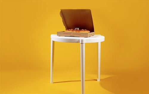 ikea pizza table