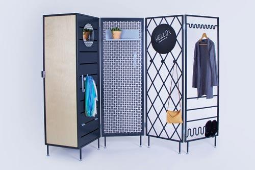patchwork room divider system