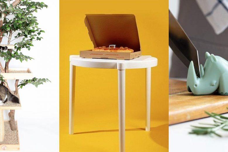 cat tree pizza table rhino knife sharpener