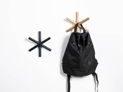 coat hangers logs