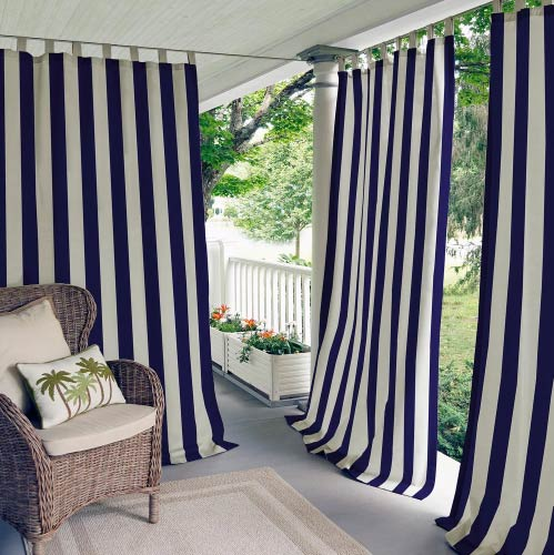 outdoor balcony curtain