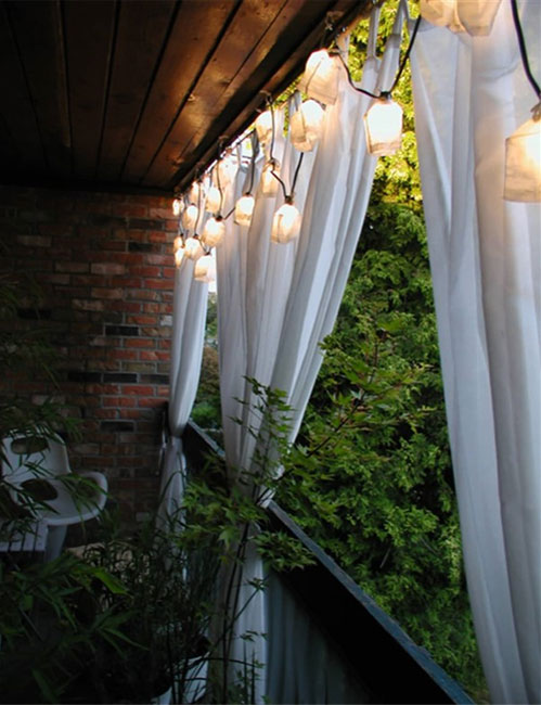 balcony privacy curtains