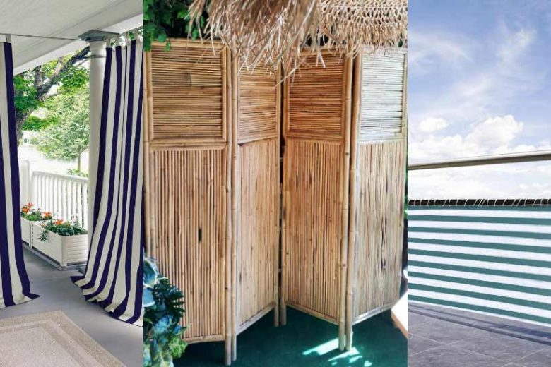 balcony privacy ideas