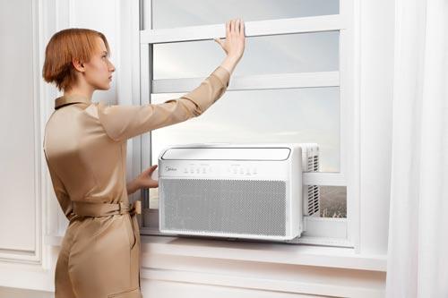 midea u-shaped air conditioner