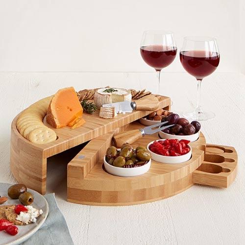 swivel cheese board