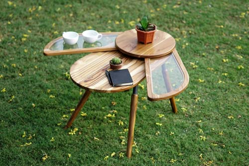 beetle inspired side table