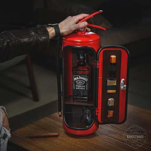 fire extinguisher mini bar