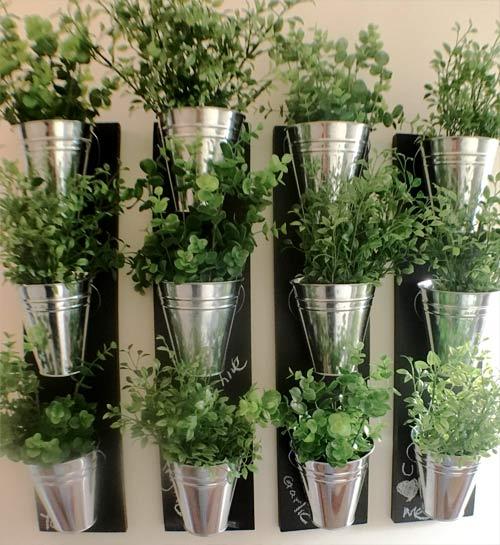 herb indoor garden wall planters
