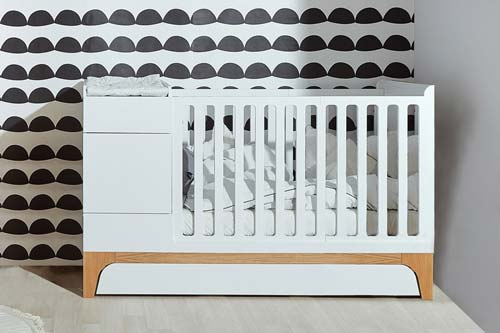 transforming crib up
